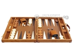 picture of Hector Saxe Suede Leather Backgammon Set - Havana (4 of 12)