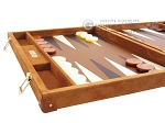 picture of Hector Saxe Suede Leather Backgammon Set - Havana (5 of 12)