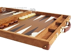 picture of Hector Saxe Suede Leather Backgammon Set - Havana (6 of 12)