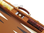 picture of Hector Saxe Suede Leather Backgammon Set - Havana (9 of 12)
