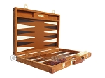 picture of Hector Saxe Suede Leather Backgammon Set - Havana (10 of 12)