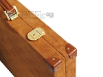 picture of Hector Saxe Suede Leather Backgammon Set - Havana (12 of 12)