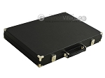 picture of Hector Saxe Calfskin Leather Backgammon Set - Black (11 of 12)