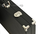 picture of Hector Saxe Calfskin Leather Backgammon Set - Black (12 of 12)
