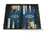 picture of 19-inch Black Backgammon Set - Blue (1 of 12)