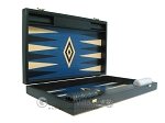 picture of 19-inch Black Backgammon Set - Blue (7 of 12)