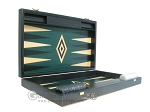 picture of 19-inch Black Backgammon Set - Green (7 of 12)