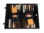 picture of 15-inch Black Backgammon Set - Black Field (1 of 12)