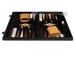 picture of 15-inch Black Backgammon Set - Black Field (4 of 12)