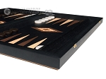 picture of 15-inch Black Backgammon Set - Black Field (6 of 12)