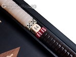 picture of 15-inch Black Backgammon Set - Black Field (8 of 12)