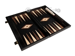 picture of 15-inch Black Backgammon Set - Black Field (8 of 11)