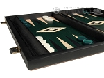 picture of 15-inch Black Backgammon Set - Green Field (5 of 12)