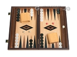 picture of 15-inch Oak Backgammon Set - Black (1 of 12)