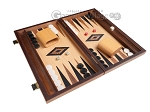 picture of 15-inch Oak Backgammon Set - Black (2 of 11)