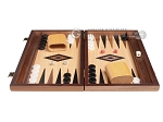 picture of 15-inch Oak Backgammon Set - Black (3 of 11)