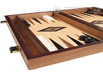 picture of 15-inch Oak Backgammon Set - Black (4 of 11)