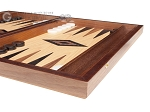 picture of 15-inch Oak Backgammon Set - Black (6 of 12)