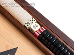 picture of 15-inch Oak Backgammon Set - Black (8 of 12)