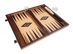 picture of 15-inch Oak Backgammon Set - Black (8 of 11)