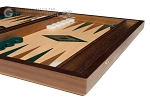picture of 15-inch Oak Backgammon Set - Green (5 of 11)