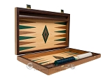 picture of 15-inch Oak Backgammon Set - Green (10 of 12)