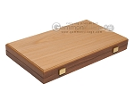 picture of 15-inch Oak Backgammon Set - Red (11 of 12)