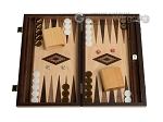 picture of 15-inch Olive Root Backgammon Set - Oak Field (1 of 12)
