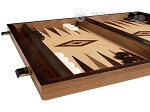 picture of 15-inch Olive Root Backgammon Set - Oak Field (5 of 12)