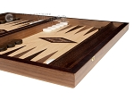 picture of 15-inch Olive Root Backgammon Set - Oak Field (6 of 12)