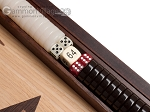 picture of 15-inch Olive Root Backgammon Set - Oak Field (8 of 12)