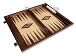 picture of 15-inch Olive Root Backgammon Set - Oak Field (9 of 12)
