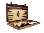 picture of 15-inch Olive Root Backgammon Set - Oak Field (10 of 12)