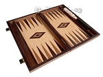 picture of 15-inch White Zebrano Backgammon Set - Oak Field (9 of 12)