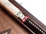 picture of 15-inch White Zebrano Backgammon Set - Walnut Field (8 of 12)