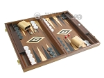 picture of 19-inch Walnut Backgammon Set - Black (2 of 12)