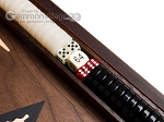 picture of 15-inch Walnut Backgammon Set - Black (8 of 12)