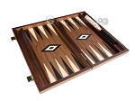 picture of 15-inch Walnut Backgammon Set - Black (9 of 12)