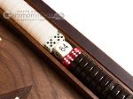 picture of 15-inch Walnut Backgammon Set - Brown (7 of 12)