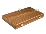 picture of 15-inch Walnut Backgammon Set - Green (10 of 11)