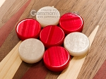 picture of 15-inch Walnut Backgammon Set - Red (7 of 12)