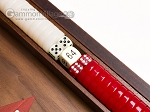 picture of 15-inch Walnut Backgammon Set - Red (7 of 11)