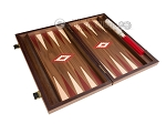 picture of 15-inch Walnut Backgammon Set - Red (9 of 12)
