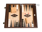 picture of 15-inch Walnut and Oak Backgammon Set - Black (1 of 12)