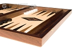 picture of 15-inch Walnut and Oak Backgammon Set - Black (6 of 12)