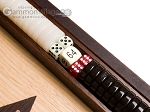 picture of 15-inch Walnut and Oak Backgammon Set - Brown (8 of 12)