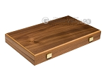 picture of 15-inch Walnut and Oak Backgammon Set - Green (11 of 12)