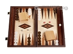 15-inch Lupo Root Backgammon Set - Lupo Field - Item: 2910