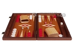 picture of 15-inch Mahogany Backgammon Set - Red (4 of 12)