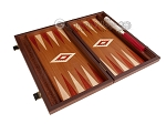 picture of 15-inch Mahogany Backgammon Set - Red (9 of 12)